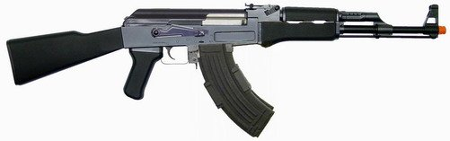 Electric airsoft AK rifle full stock AE-5850tw full metal body /gear box Tokyo Marui replica