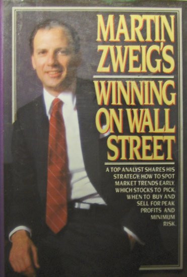 Martin Zweig's Winning on Wall Street (1986, Hardcover) - MARTIN ZWEIG