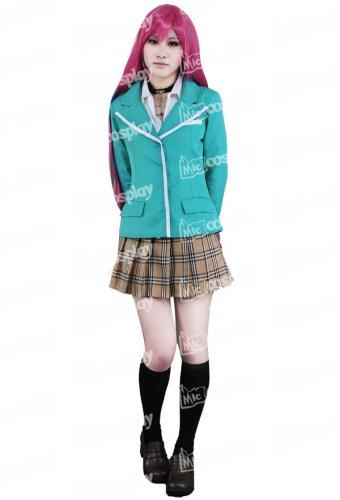 Rosario + Vampire Moka Akashiya Cosplay Costume