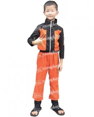 Naruto Uzumaki Kids Cosplay Costume