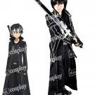 Sword Art Online Kirito Kazuto Kirigay Cloak Men Cosplay Costume
