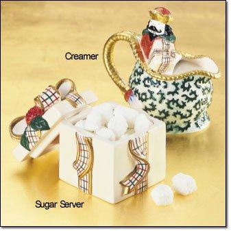 St Nicholas Sugar and Creamer Set