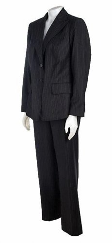 Anne Klein Women's Plus Size 2-Button Suit