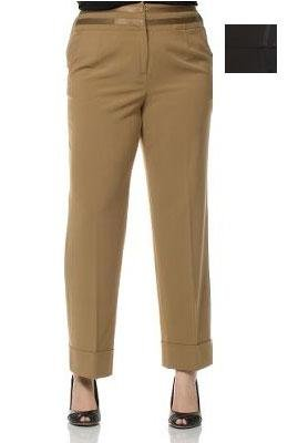 Larry Levine Washable Plus Size Pants