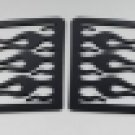 1999-06 Chevy Silverado Flames Sidewinders Window Covers
