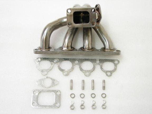 MimoUSA Turbo Manifolds D15 D16 Stainless T3 Flange