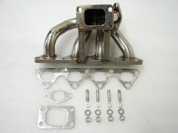 MimoUSA Turbo Manifolds B16 B18 Stainless T3 Flange