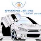 Universal Scissor-Slide Vertical Lambo Doors