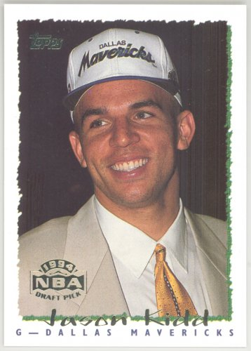 1994-95 Topps � JASON KIDD - ROOKIE