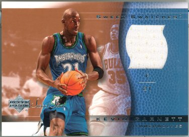 2003-04 Upper Deck Sweet Shot Swatches #KG-SS Kevin Garnett JERSEY