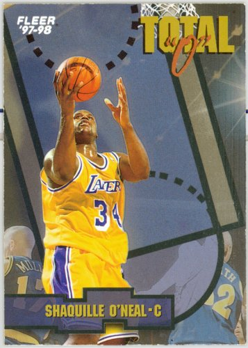 1997-98 Fleer Total �O� � SHAQUILLE O�NEAL - INSERT