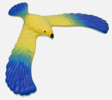Amazing Magical BALANCING BIRD TOY � 5� Wing Span � Physic/Education/Fun - Blue