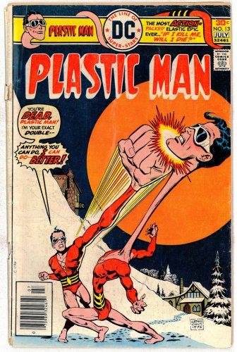 PLASTIC MAN DC COMICS � Vol. 1 No.13 1976