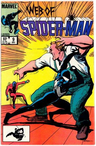 SPIDER-MAN MARVEL COMICS � Vol. 1 No. 9 1985 � GREAT CONDITION