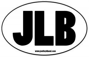 JLB Oval Sticker