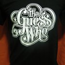 !! FREE SHIPPING!! the Guess Who black handmade t shirt size L