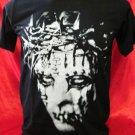 !! FREE SHIPPING!! Slipknot American heavy metal band handmade black t shirt size M