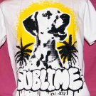 !! FREE SHIPPING!! Sublime Lou dog reggae ska punk band men women t shirt size L