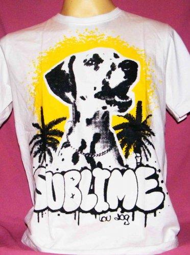 !! FREE SHIPPING!! Sublime Lou dog reggae ska punk band men women t shirt size XL