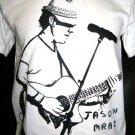 !! FREE SHIPPING!! Jason Mraz Indie reggae pop rock music men,women surf t shirt size M