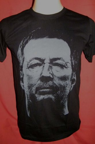 !! FREE SHIPPING!! Eric Clapton English blues rock guitarist t shirt size S