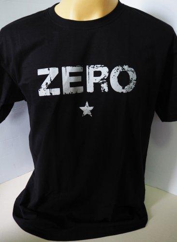 !! FREE SHIPPING!! The Smashing Pumpkins Zero alternative rock band gray on black t shirt size L