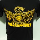 !! FREE SHIPPING!! Wolfmother Australian hard rock band music black t shirt size L