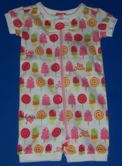 NWT GYMBOREE ONE PIECE ROMPER BABY GIRLS SIZE 0 TO 3 MONTHS
