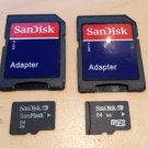 64MB Sandisk Micro SD Transflash TF Card NEW