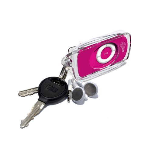 Mophie Mueva Bevy iPod Shuffle Case with Bottle Opener & Keychain (Pink)