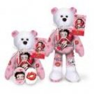 Betty Boop Hearts & Kisses Bear