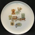 Vintage 1950s TAYLOR SMITH & TAYLOR Plate CAPE COD