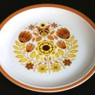 Vintage TAYLOR SMITH & TAYLOR Taylorton PERSIMMON Plate