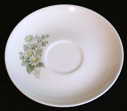 Vintage TAYLOR SMITH & TAYLOR Saucer SUMMER SHOWERS
