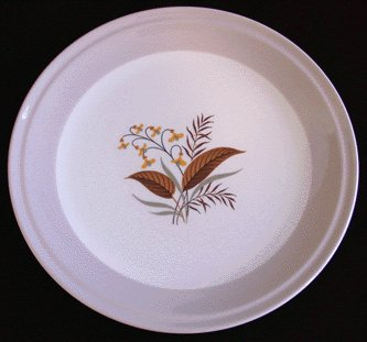 HOMER LAUGHLIN Cunningham & Pickett VOGUE Dinner Plate