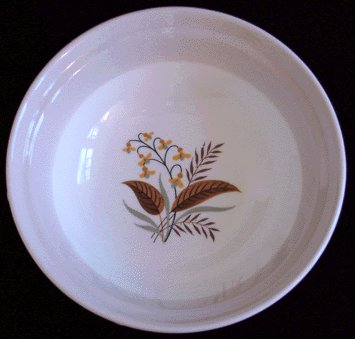 HOMER LAUGHLIN Cunningham & Pickett VOGUE Fruit Bowl