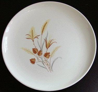 TAYLOR SMITH & TAYLOR Autumn Harvest DINNER PLATE -B
