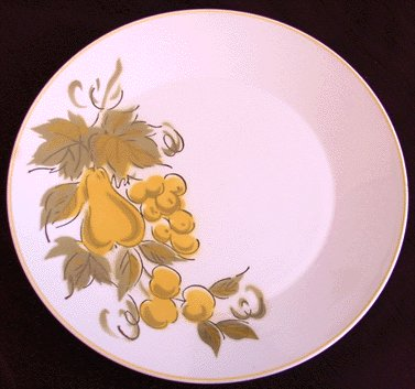 MIKASA Dinner Plate FOCUS Golden Valley 2009 JAPAN