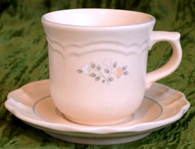 PFALTZGRAFF Cup & Saucer REMEMBRANCE Dishes