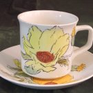 JOHNSON BROS Sierra/Flowers CUP & SAUCER England