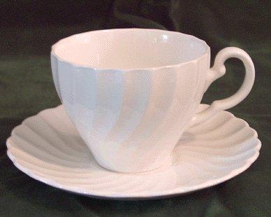 JOHNSON BROS Snowhite Regency CUP & SAUCER England