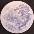 WEDGWOOD Countryside DINNER PLATE England BLUE