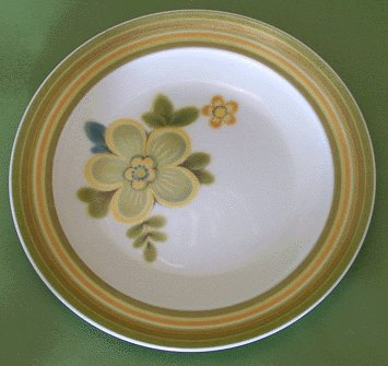 NORITAKE Expression CHESTNUTHILL Bread Plate MOD Chestnut Hill