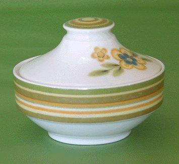NORITAKE Expression CHESTNUTHILL Sugar Bowl MOD