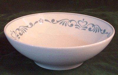 Vintage Dishes FRANCISCAN Blue Fancy 6 inch Soup/Cereal Bowl