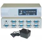 VGA Video Splitter, 1 PC to 8 Monitors, 400MHZ  41H1-14818