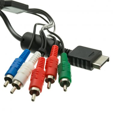 5ft Playstation Component Video and RCA Stereo Audio HD Cable  10R2-31106
