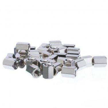 Hex Nut, # 4 - 40, 100 Pieces, 5.9mm  30D1-02450