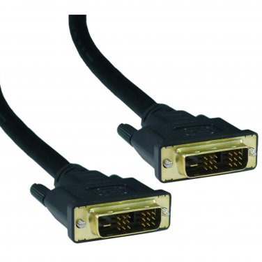 DVI-D Single Link Cable, DVI-D Male, 2 meter (6.6 foot)