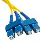 Fiber Optic Cable, SC / SC, Singlemode, Duplex, 9/125, 3 meter (10 foot)